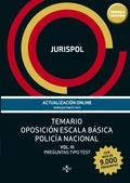 TEMARIO OPOSICIÓN ESCALA BÁSICA POLICÍA NACIONAL VOL.III