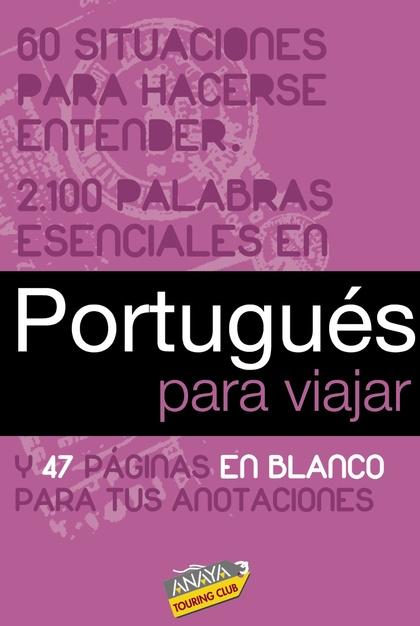 PORTUGUÉS PARA VIAJAR
