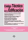 CÓDIGO TÉCNICO DE LA EDIFICACIÓN                                                LEY 38/1999, DE