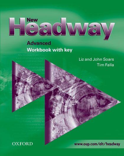 NEW HEADWAY ADVANCED WB WITH KEY 2003