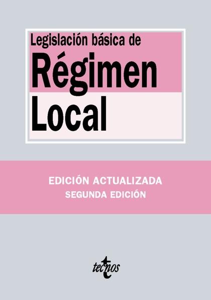 LEGISLACIÓN DE RÉGIMEN LOCAL.