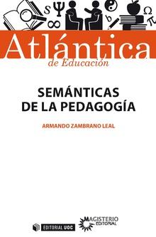 SEMANTICAS DE LA PEDAGOGIA