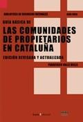 LAS COMUNIDADES DE PROPIETARIOS EN CATALUÑA
