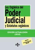 LEY ORGÁNICA DEL PODER JUDICIAL. Y ESTATUTOS ORGÁNICOS