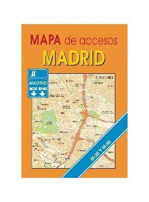 MAPA DE ACCESOS. MADRID