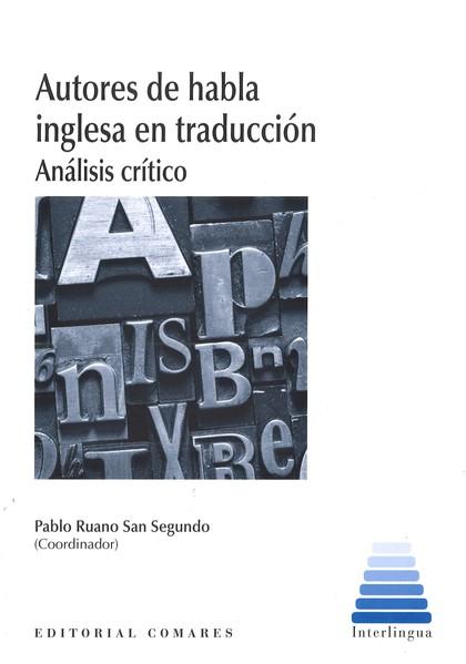 AUTORES DE HABLA INGLESA EN TRADUCCIÓN.                                         ANÁLISIS CRÍTIC