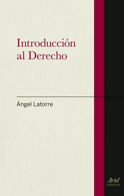 INTRODUCCIÓN AL DERECHO.