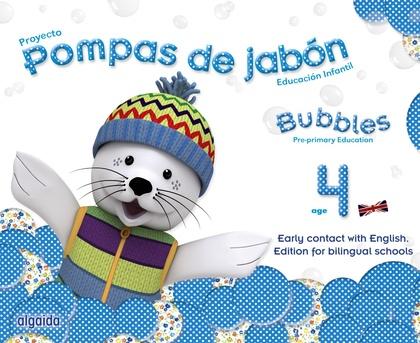 POMPAS DE JABÓN. BUBBLES AGE 4. PRE-PRIMARY EDUCATION.