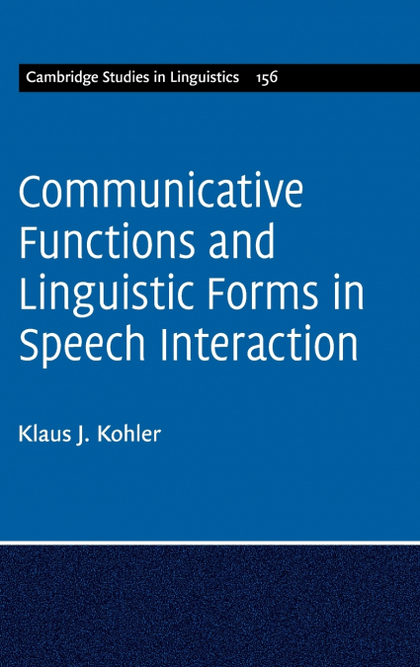 COMMUNICATIVE FUNCTIONS AND LINGUISTIC FORMS....