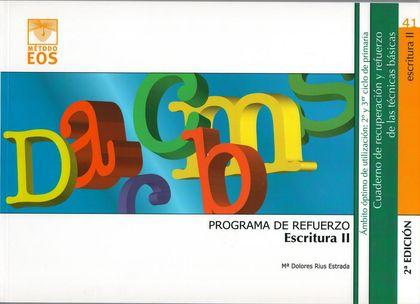 PROGRAMA DE REFUERZO DE LA ESCRITURA II