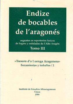 ENDIZE DE BOCABLES DE L´ARAGONÉS SEGUNTES OS REPERTORIOS LESICOS DE LUGARS Y RED