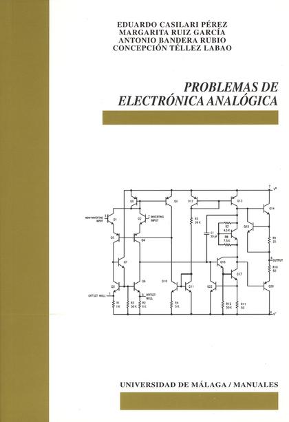 PROBLEMAS DE ELECTRÓNICA ANALÓGICA