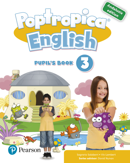 POPTROPICA ENGLISH 3 PUPIL´S BOOK ANDALUSIA + 1 CODE.