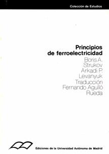PRINCIPIOS DE FERROELECTRICIDAD