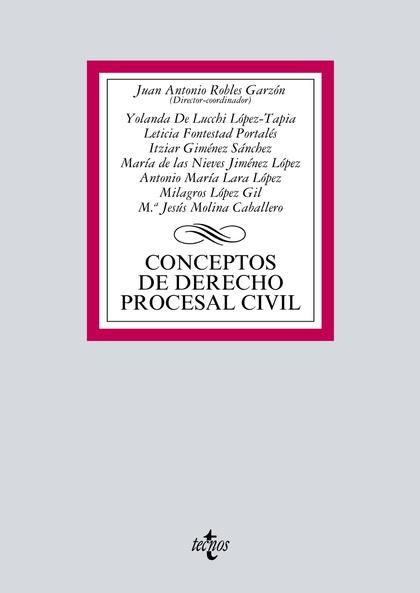 CONCEPTOS DE DERECHO PROCESAL CIVIL.