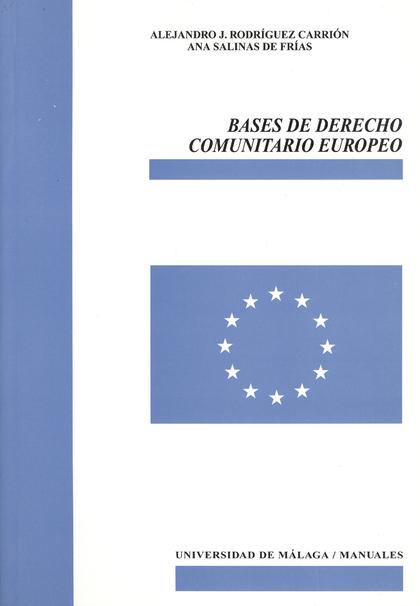 BASES DE DERECHO COMUNITARIO EUROPEO