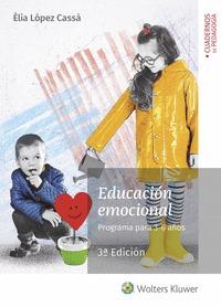 EDUCACIÓN EMOCIONAL. PROGRAMA PARA 3-6 AÑOS (3.ª EDICIÓN).