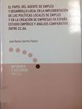 EL PAPEL DEL AGENTE DE EMPLEO Y DESARROLLO LOCAL EN LA IMPLEMENTACIÓN DE LAS POLÍTICAS LOCALES