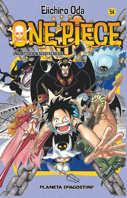 ONE PIECE Nº54.