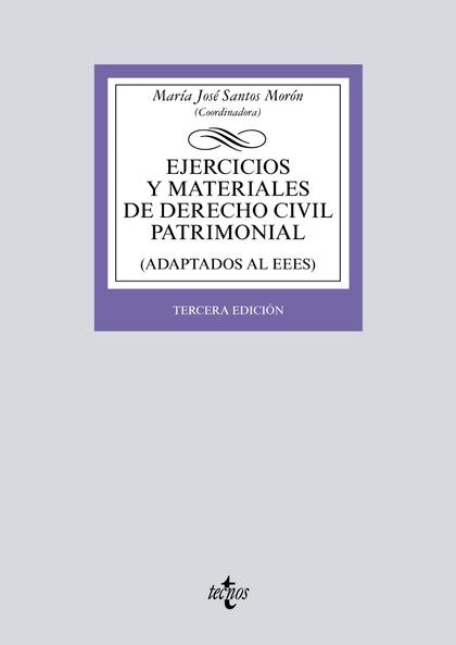 EJERCICIOS Y MATERIALES DE DERECHO CIVIL PATRIMONIAL.