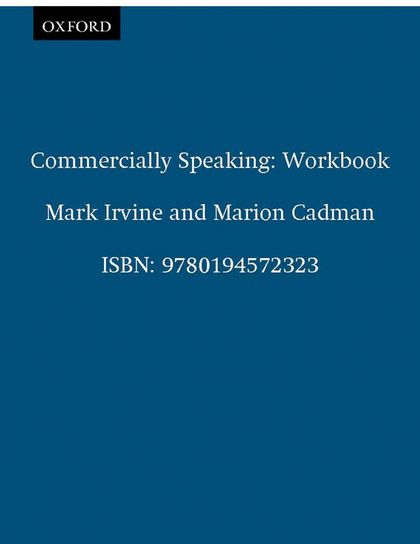 COMMERCIALLY SPEAKING WORKBOOK