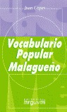 VOCABULARIO POPULAR MALAGUEÑO