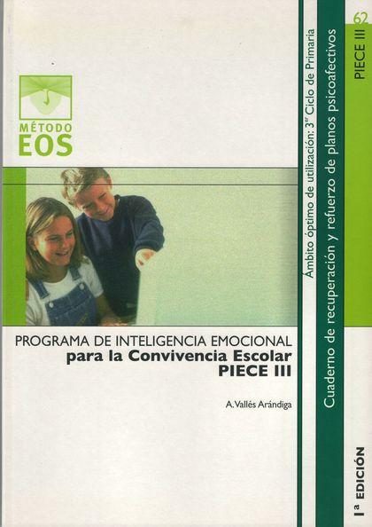 PROGRAMA DE INTELIGENCIA EMOCIONAL PARA LA CONVIVENCIA ESCOLAR III