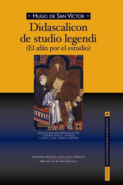 DIDASCALICON DE STUDIO LEGENDI (EL AFÁN POR EL ESTUDIO).