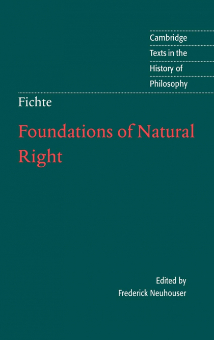 FOUNDATIONS OF NATURAL RIGHT.