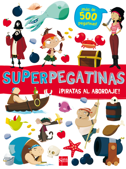 SUPERPEGATINAS PIRATAS AL ABORDAJE