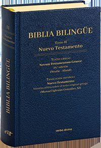 BIBLIA BILINGÜE. TOMO II NUEVO TESTAMENTO.