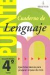 PUENTE LENGUAJE 4, EDUCACIÓN PRIMARIA (PASO DE 4º A 5º CURSO)