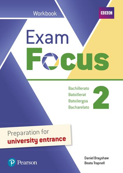 EXAM FOCUS 2 WORKBOOK PRINT & DIGITAL INTERACTIVE WORKBOOKACCESS CODE.
