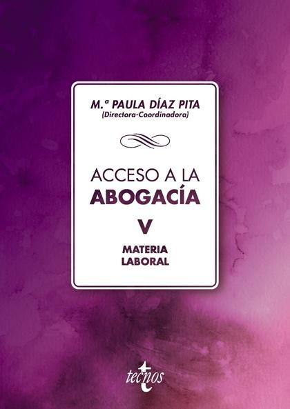 ACCESO A LA ABOGACIA. MATERIA LABORAL