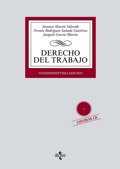 DERECHO DEL TRABAJO. CONTIENE CD