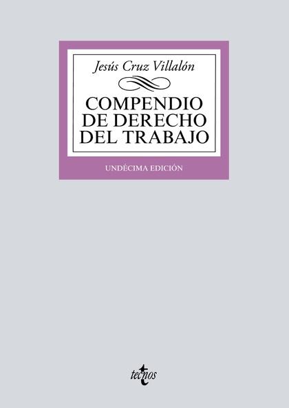 018 COMPENDIO DE DERECHO DEL TRABAJO.