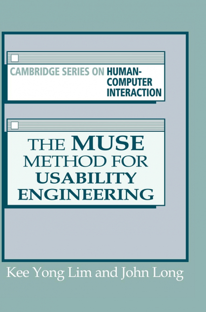 THE MUSE METHOD FOR USABILITY ENGINEERING