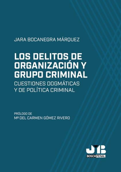 LOS DELITOS DE ORGANIZACIÓN Y GRUPO CRIMINAL                                    CUESTIONES DOGM