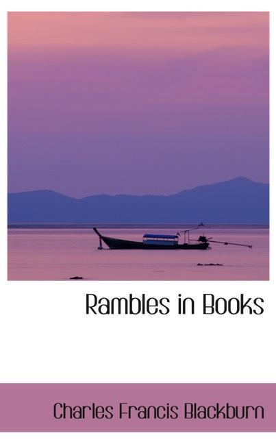 Rambles in Books