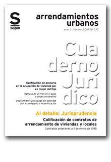 CALIFICACIÓN DE CONTRATOS DE ARRENDAMIENTO DE VIVIENDAS Y LOCALES : CONTRATOS ANTERIORES AL 1 D