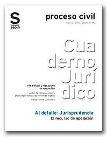 EL RECURSO DE APELACIÓN