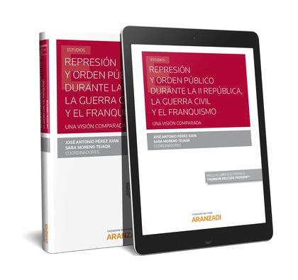 REPRESION Y ORDEN PUBLICO DURANTE II REPUBLICA GUERRA CIVIL.