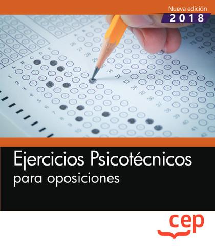 EJERCICIOS PSICOTÉCNICOS PARA OPOSICIONES.