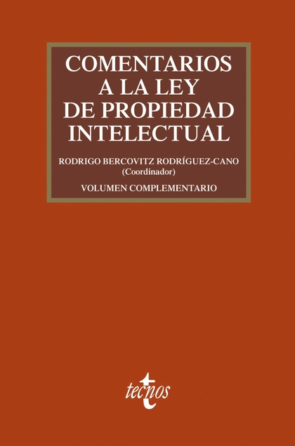 COMENTARIOS A LA LEY DE PROPIEDAD INTELECTUAL.