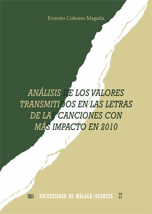 ANÁLISIS DE LOS VALORES TRANSMITIDOS EN LAS LETRAS DE LAS CANCIONES CON MÁS IMPA.