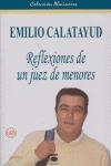 EMILIO CALATAYUD: REFLEXIONES DE UN JUEZ DE MENORES