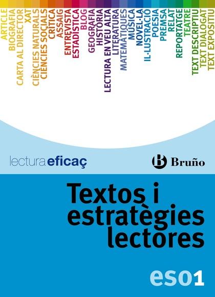TEXTOS I ESTRATÈGIES LECTORES, 1 ESO (CATALUÑA, VALENCIA, BALEARES)
