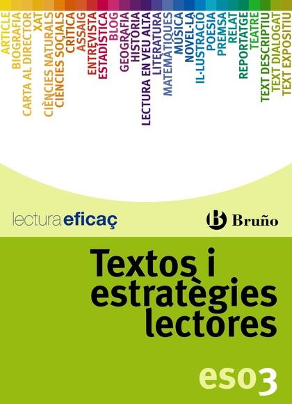 TEXTOS I ESTRATÈGIES LECTORES, 3 ESO (CATALUÑA, VALENCIA, BALEARES)
