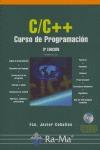 CURSO DE PROGRAMACIÓN C/C++