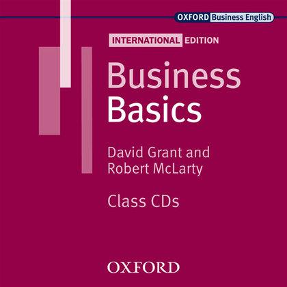 BUSINESS BASICS INT.ED CLASS AUDIO CD